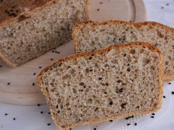 chleb z czarnuszka nowosc